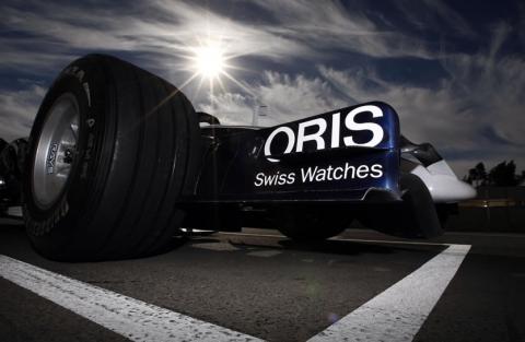 Сотрудничество ORIS с Williams F1 Team.