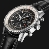 Breitling Navitimer Chronograph GMT 46 Steel - Black A24322121B1P1