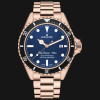 Edox SkyDiver 70s Date Automatic 80112-37RNM-BUI