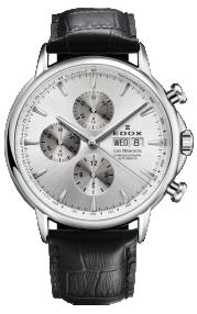 Edox Les Bémonts Chronograph Automatic 01120-3-AIN