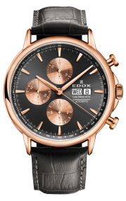 Edox Les Bémonts Chronograph Automatic 01120-37R-GIR