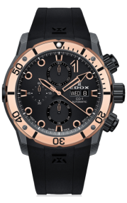 Edox CO-1 Carbon Chronograph Automatic 01125-CLN5N-NIR