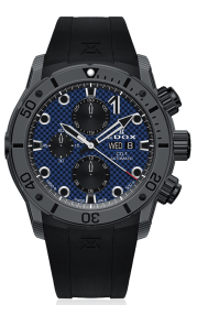 Edox CO-1 Carbon Chronograph Automatic 01125-CLNGN-BUNN