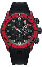 Edox CO-1 Carbon Chronograph Automatic 01125-CLNRN-NINRO