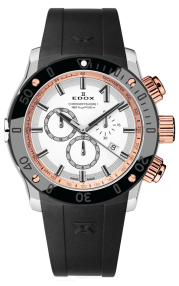 Edox CO-1 Chronograph Quartz 10221-357R-BINR