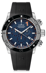 Edox CO-1 Chronograph Quartz 10221-3N-BUINO
