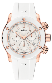 Edox CO-1 Chronolady 10225-37RB-BIR