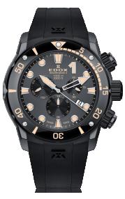 Edox CO-1 Sharkman II Limited Edition 10234-357GN-NINB