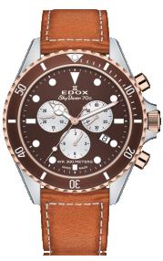 Edox Skydiver 70s Chronograph 10238-357RBRC-BRIA