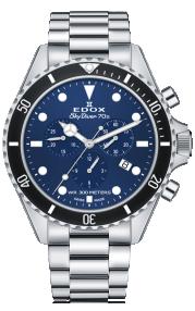 Edox SkyDiver 70s Chronograph 10238-3NM-BUI