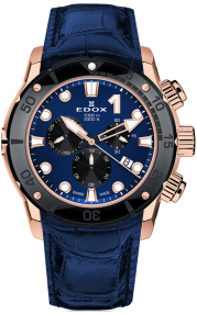 Edox CO-1 Chronograph 10242-TINR-BUIRN