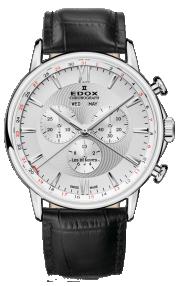 Edox Les Bémonts Chronograph Complication 10501-3-AIN