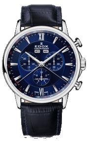 Edox Les Bémonts Chronograph Complication 10501-3-BUIN