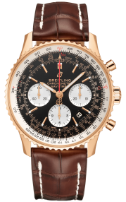 Breitling Navitimer B01 Chronograph 43 Red Gold - Black RB0121211B1P1