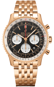 Breitling Navitimer B01 Chronograph 43 Red Gold - Black RB0121211B1R1