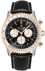 Breitling Navitimer B01 Chronograph 46 Steel & Red Gold - Black UB0127211B1P1
