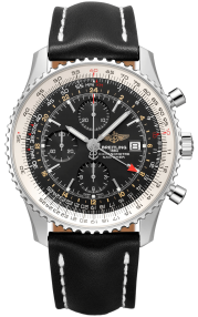 Breitling Navitimer Chronograph GMT 46 Steel - Black A24322121B1X1