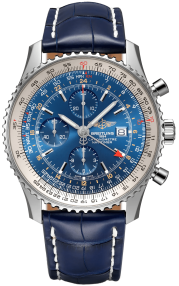 Breitling Navitimer Chronograph GMT 46 Steel - Blue A24322121C1P1