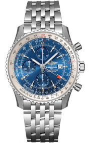 Breitling Navitimer Chronograph GMT 46 Steel - Blue A24322121C1A1