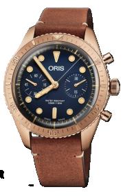 Oris Carl Brashear Chronograph 01 771 7744 3185-Set LS