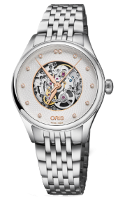 Oris Artelier Skeleton Diamonds 01 560 7724 4031-07 8 17 79
