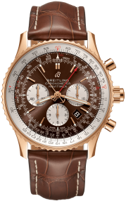 Breitling Navitimer B03 Chronograph Rattrapante 45 Red Gold (Limited) - Black