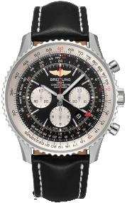 Breitling Navitimer B04 Chronograph GMT 48 Steel - Black AB0441211B1X1