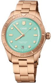 Oris Divers Sixty-Five Cotton Candy 01 733 7771 3157-07 8 19 15
