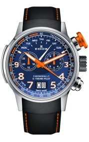 Edox Chronorally Chronograph 38001-TINO-BUO3