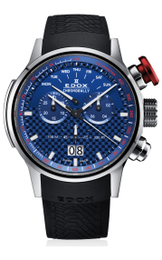 Edox Chronorally Chronograph 38001-TIN-BUIN
