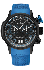 Edox Chronorally Chronograph 38001-TINNBU3-NIBU3