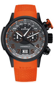 Edox Chronorally Chronograph 38001-TINNO3-NO3