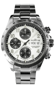 Fortis Classic Cosmonauts Steel Limited Edition 401.21.72-M-WE1