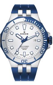 Edox Delfin Diver Date 53015-357BUCA-AIBU
