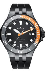 Edox Delfin Diver Date 53015-357GNOCA-NIN
