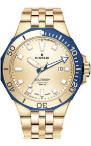 Edox Delfin Diver Date 53015-357JBUM-DI