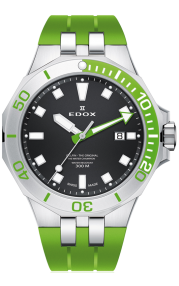 Edox Delfin Diver Date 53015-3VCA-NIN