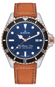 Edox SkyDiver 70s Date 53017-357RNC-BUI