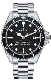 Edox SkyDiver 70s Date 53017-3NM-NI