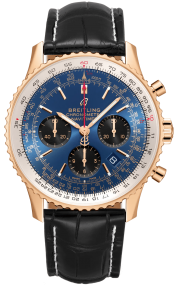 Breitling Navitimer B01 Chronograph 43 Red Gold - Blue RB0121211C1P1