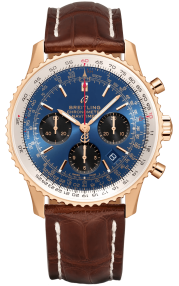 Breitling Navitimer B01 Chronograph 43 Red Gold - Blue RB0121211C1P2