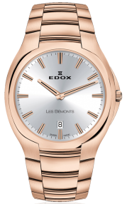 Edox Les Bémonts Ultra Slim Date 56003-37R-AIR