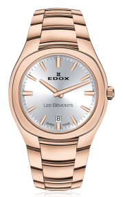 Edox Les Bémonts Ultra Slim Date 57004-37R-AIR