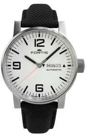 Fortis Spacematic Steel White 623.10.12-LP10