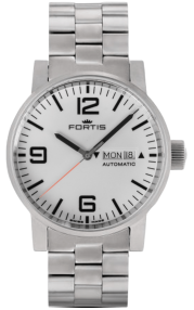 Fortis Spacematic Steel White 623.10.12-M-WE1