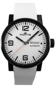 Fortis Spacematic Stealth White 623.18.12-Si02-WE1