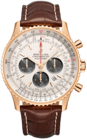 Breitling Navitimer B01 Chronograph 46 Red Gold - Silver RB0127121G1P2