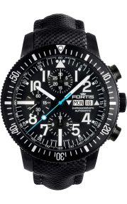 Diver Black Chronograph 638.18.41