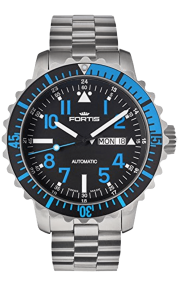 Fortis Marinemaster Blue 670.15.45 M