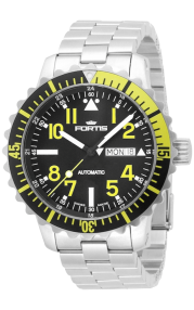 Fortis Marinemaster Yellow 670.24.14 M